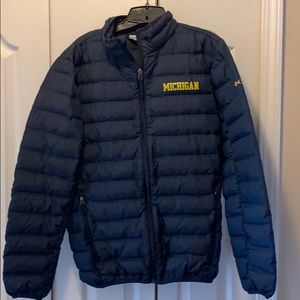 Michigan Columbia Puffer Jacket